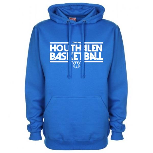 Hoodie Blauw Bball Wit
